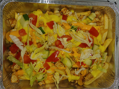 Foto Cheese deluxe chicken (kapsalon)